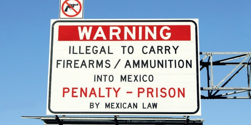 US-Mexico firearms traffic